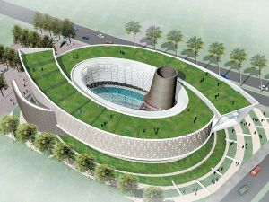desain museum tsunami aceh