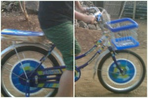 city bike warna biru